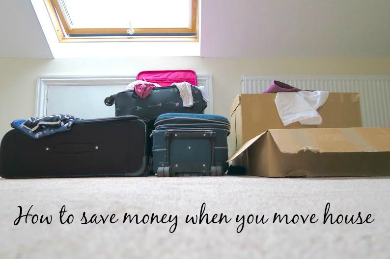 How to save money when you move house