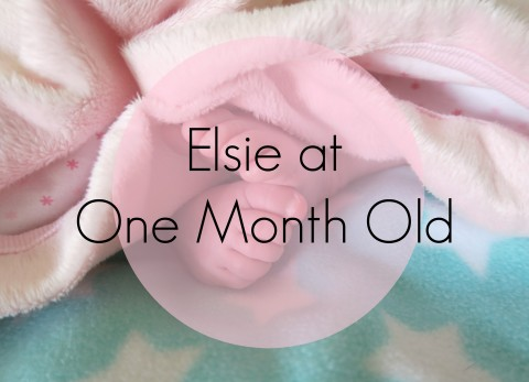 Elsie at one month old