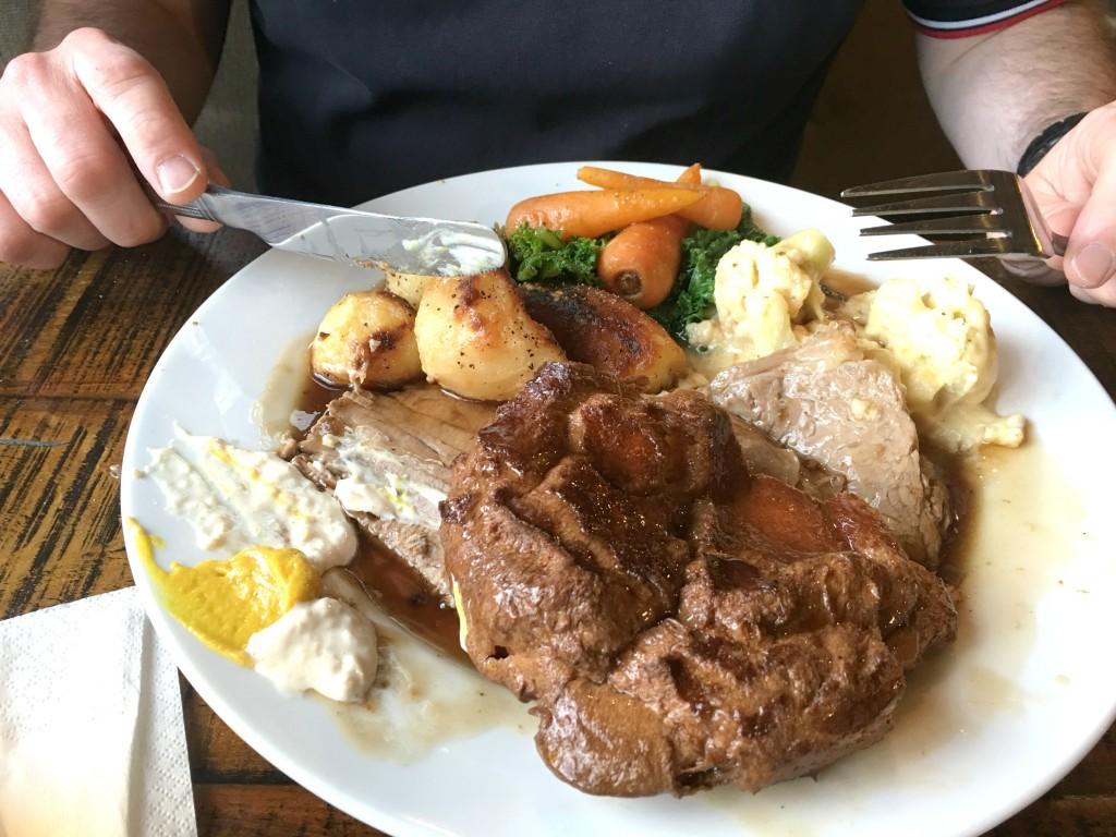 roast beef, brewhouse and kitchen, cheltenham