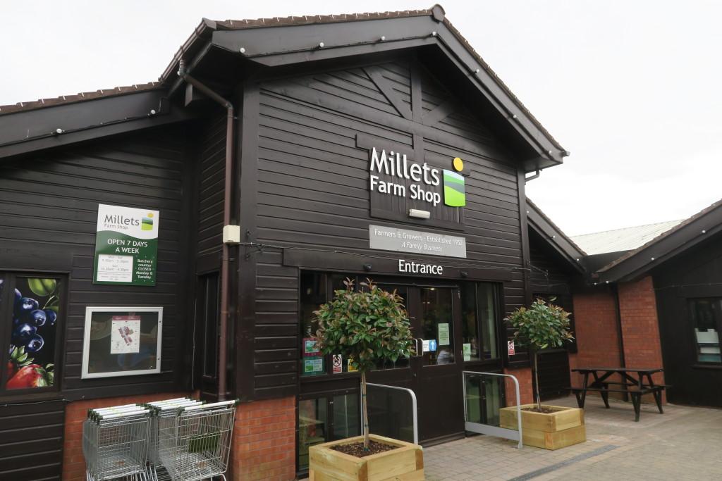 millets fair shop evesham