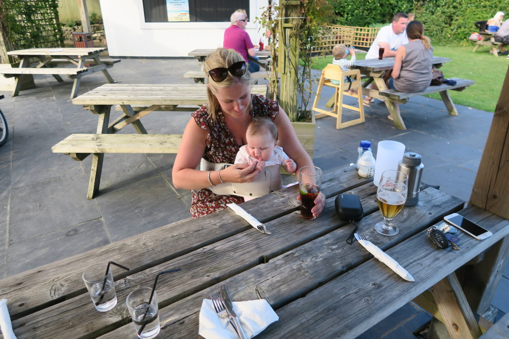 LapBaby, goonhavern, the new inn, cornwall, perranporth