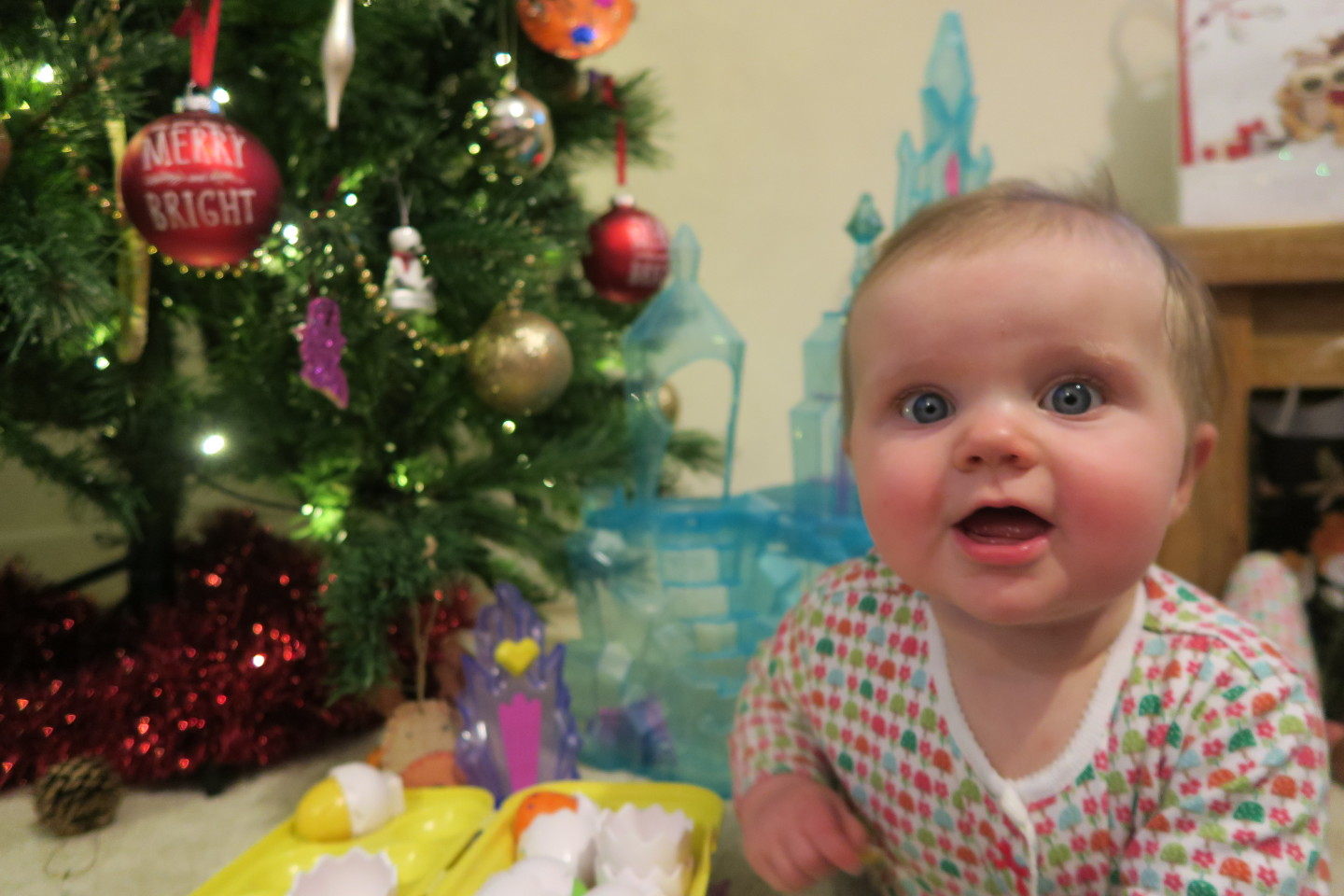 elsie at christmas, first christmas