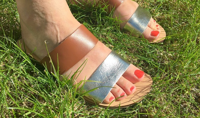 simply be leather sandals