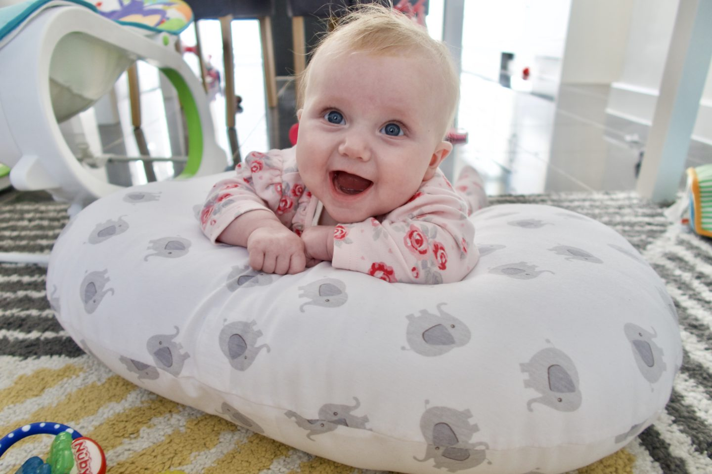 purflo curve feeding cushion