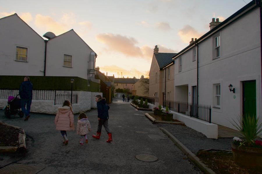 the village bluestone