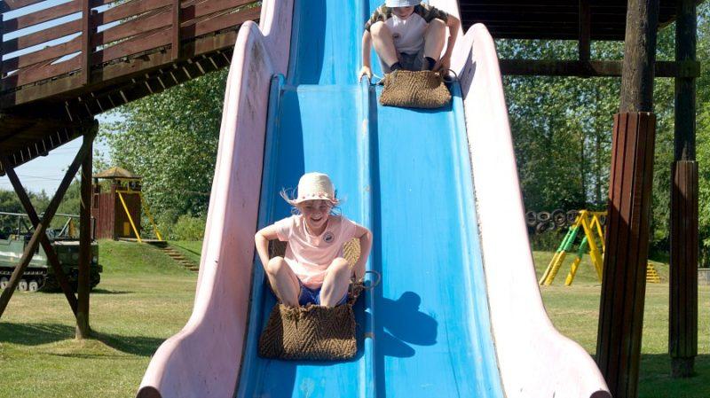 diggerland slide